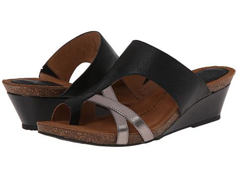 Sofft - Vivi (Black/Anthracite) Women's Wedge Shoes