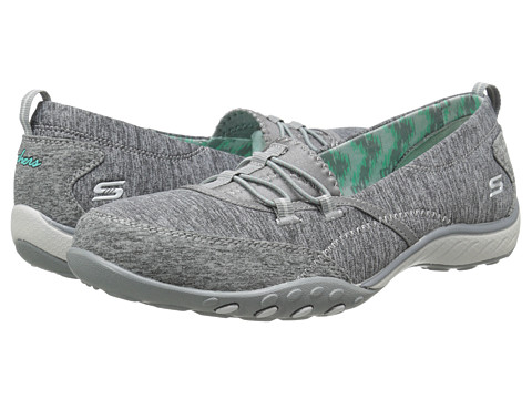 SKECHERS - Five-Star (Gray) Women's Running Shoes