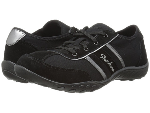 SKECHERS - Cool It (Black) Women's Lace up casual Shoes