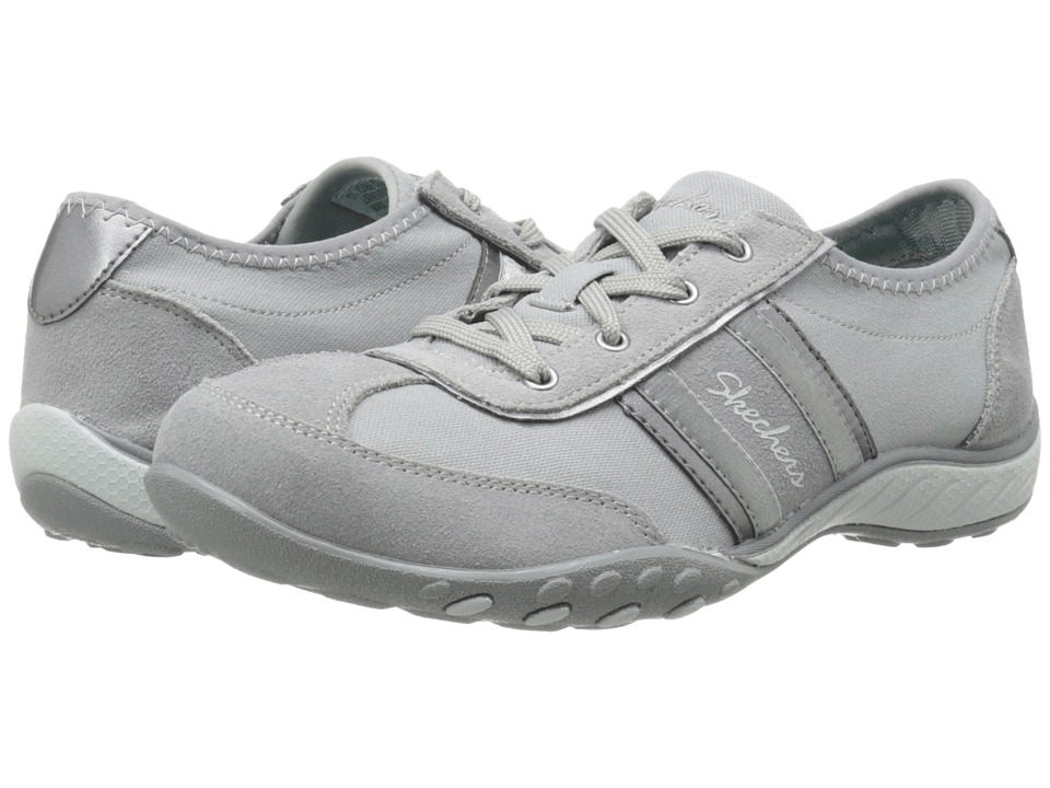 SKECHERS - Cool It (Gray) Women's Lace up casual Shoes