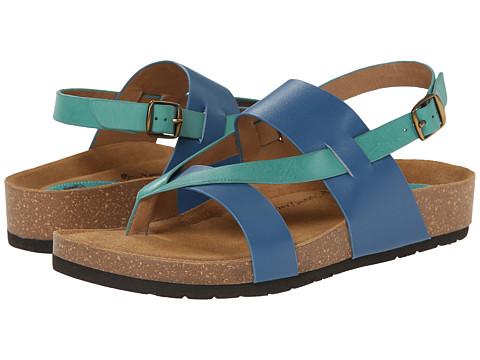 Sofft - Bristol (Cobalt Blue Vege/Aqua Vege) Women's Sandals