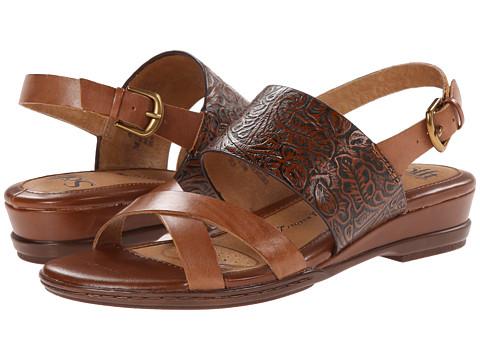 Sofft - Sassandra (Cymbal Tan Vege/Cognac Western Tool) Women's Sandals