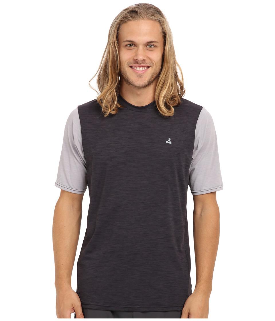 XCEL Wetsuits - Gamer UV S/S Top (Heather Black/Alloy) Men