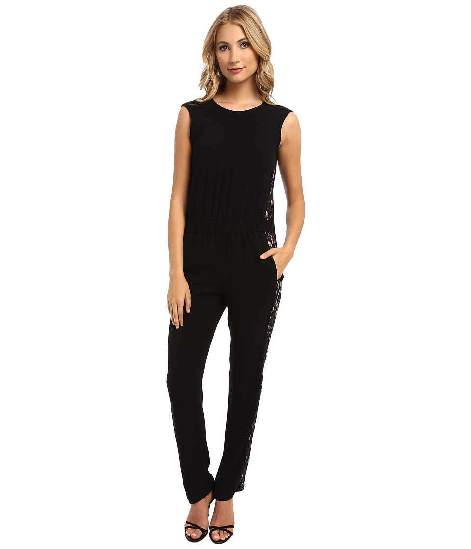 BCBGMAXAZRIA - Victorya Jumpsuit (Black) Women's Jumpsuit & Rompers One Piece