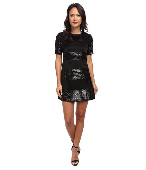 Nanette Lepore - Lustrous Dress (Black) Women's Dress