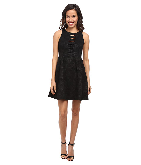 Nanette Lepore - Masquerade Dress (Black) Women's Dress