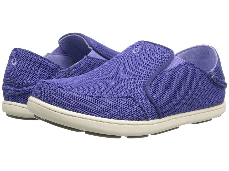 OluKai Kids Nohea Mesh (Toddler/Little Kid/Big Kid) (Deep Violet/Lupine) Girls Shoes