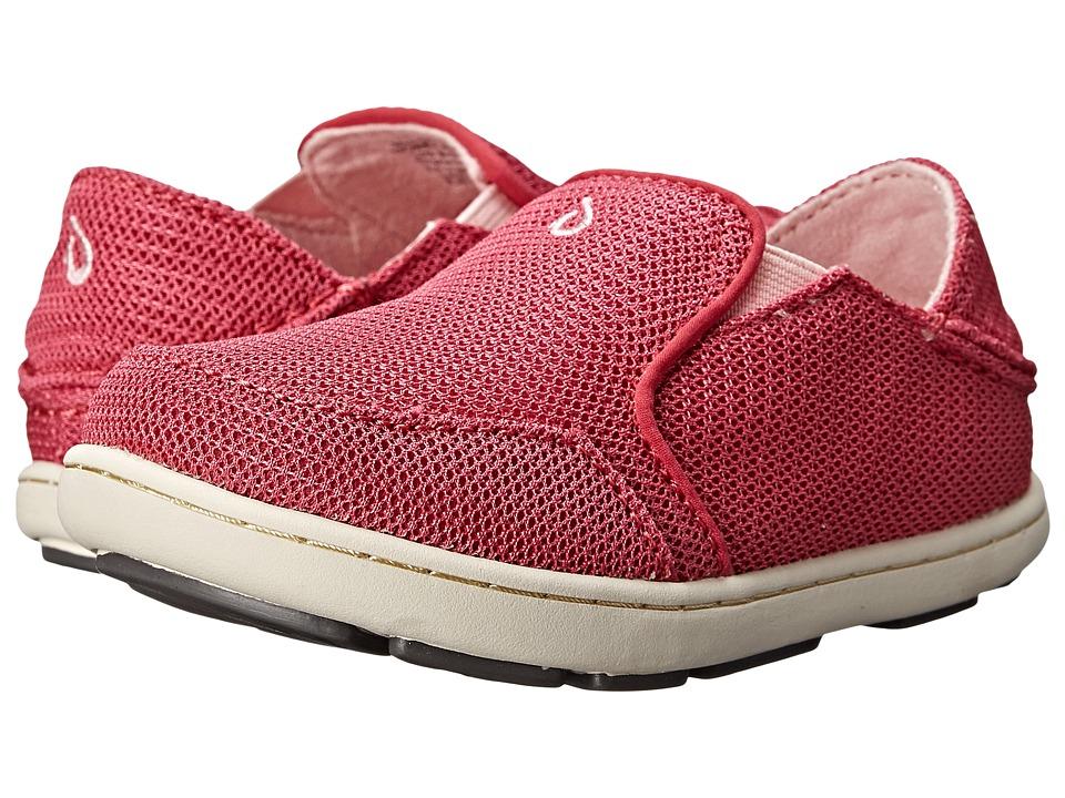 OluKai Kids - Nohea Mesh (Toddler/Little Kid/Big Kid) (Bikini Pink/Blossom) Girls Shoes