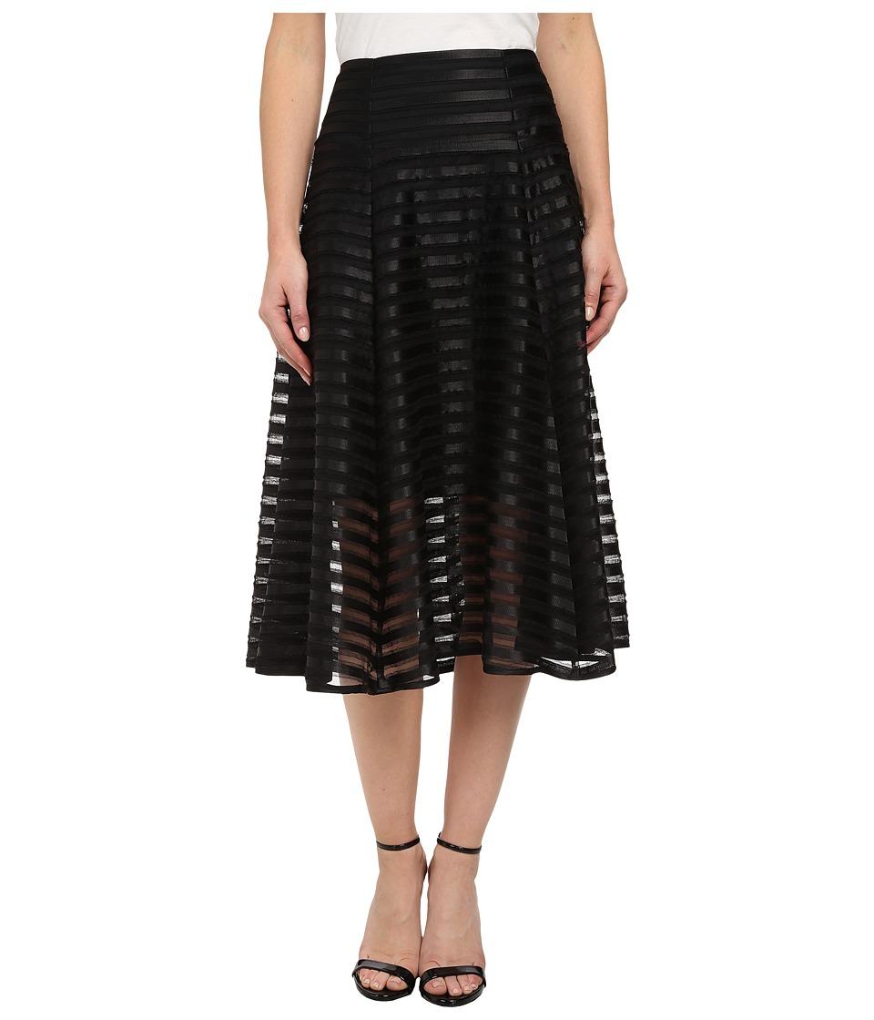 Nanette Lepore - Transparency Skirt (Black) Women