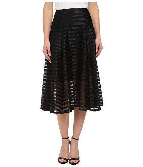 Nanette Lepore - Transparency Skirt (Black) Women