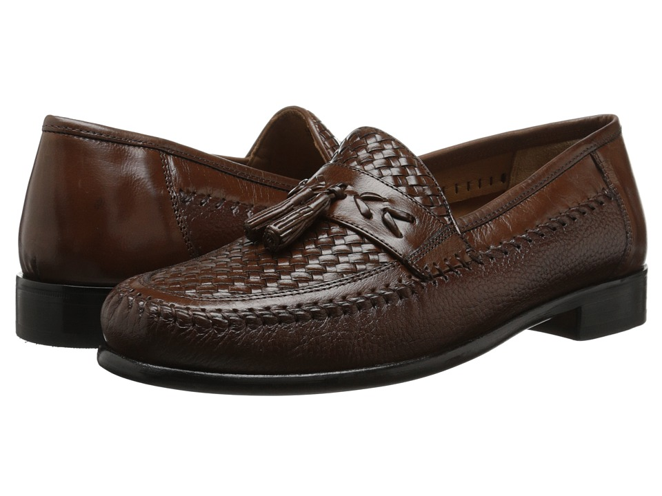 Florsheim - Swivel Weave (Cognac) Men