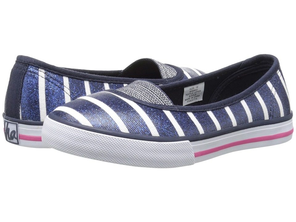Hanna Andersson - Mimmi 2 (Toddler/Little Kid/Big Kid) (Navy Stripe) Girl's Shoes