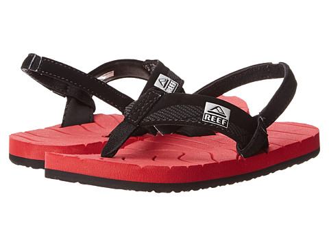 Reef Kids - Grom Roundhouse (Infant/Toddler/Little Kid/Big Kid) (Red/Black) Boys Shoes