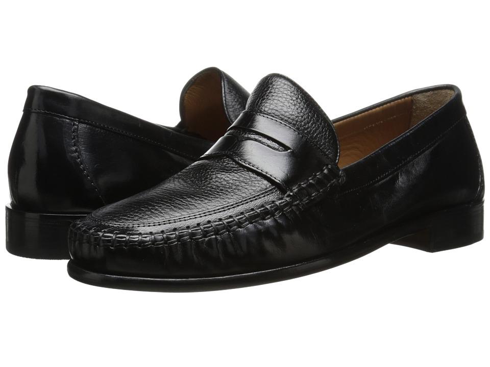 Florsheim - Swivel Penny (Black) Men's Slip-on Dress Shoes