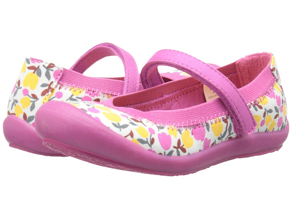 Hanna Andersson - Maya 2 (Toddler/Little Kid/Big Kid) (Pink Floral) Girls Shoes