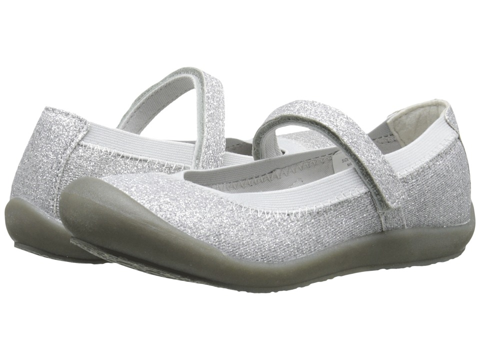 Hanna Andersson - Maya 2 (Toddler/Little Kid/Big Kid) (Silver) Girls Shoes