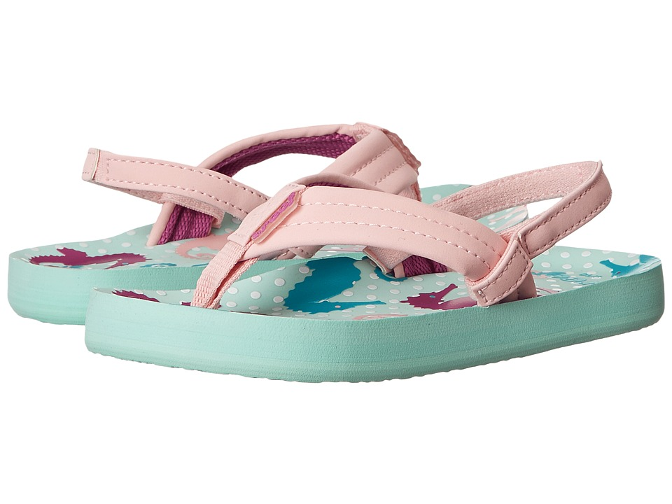 Reef Kids - Little Ahi (Infant/Toddler/Little Kid/Big Kid) (Seahorses) Girls Shoes