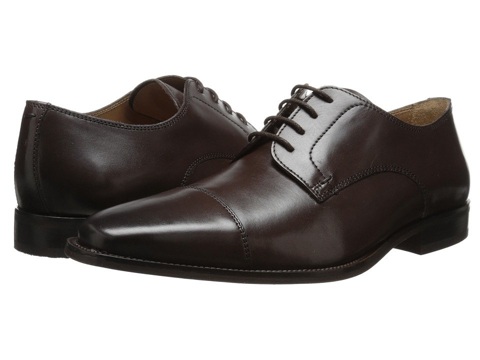 Florsheim - Sabato Cap Ox (Brown) Men's Lace Up Cap Toe Shoes