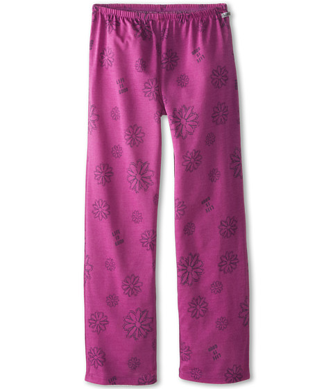 Life is good Kids - Daisy Sleep Pant (Little Kids/Big Kids) (Fresh Raspberry) Girl's Pajama