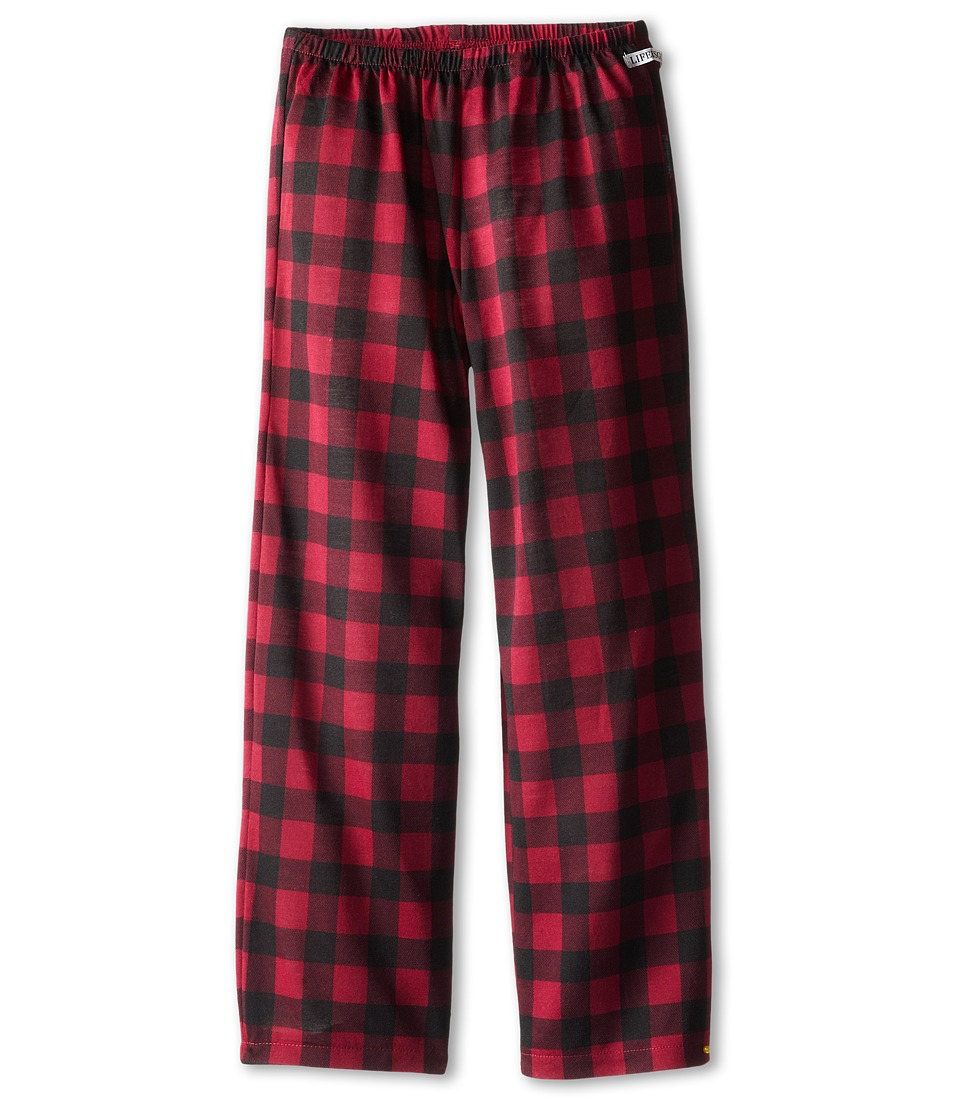 Life is good Kids - Plaid Sleep Pant (Little Kids/Big Kids) (Wild Cherry) Girl's Pajama