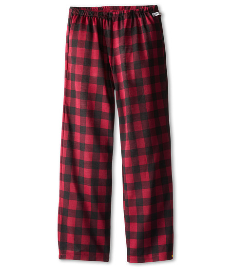 Life is good Kids - Plaid Sleep Pant (Little Kids/Big Kids) (Wild Cherry) Girl