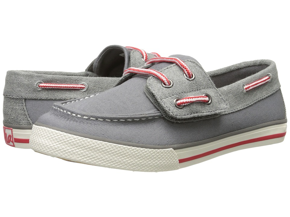 Hanna Andersson - Nils Boat (Toddler/Little Kid/Big Kid) (Antwerp Grey) Boy's Shoes