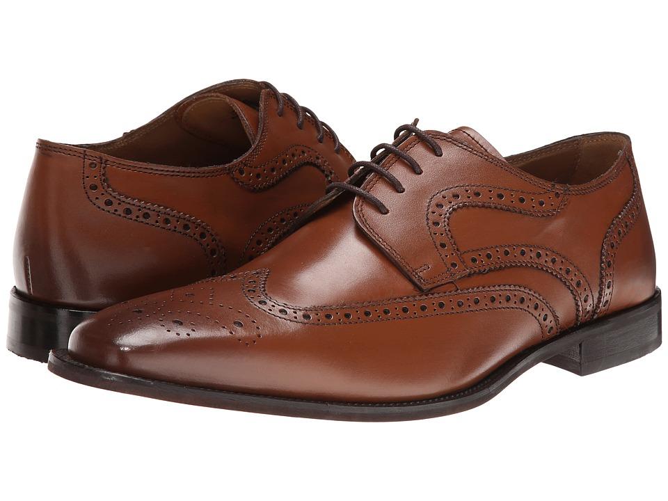 Florsheim - Sabato Wing Ox (Cognac) Men's Lace Up Wing Tip Shoes
