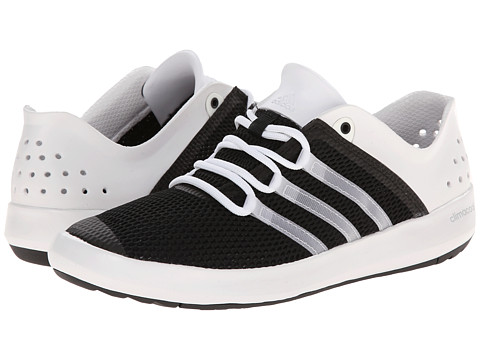 adidas Outdoor - CLIMACOOL Boat Pure (Black/White/Silver Metallic) Men