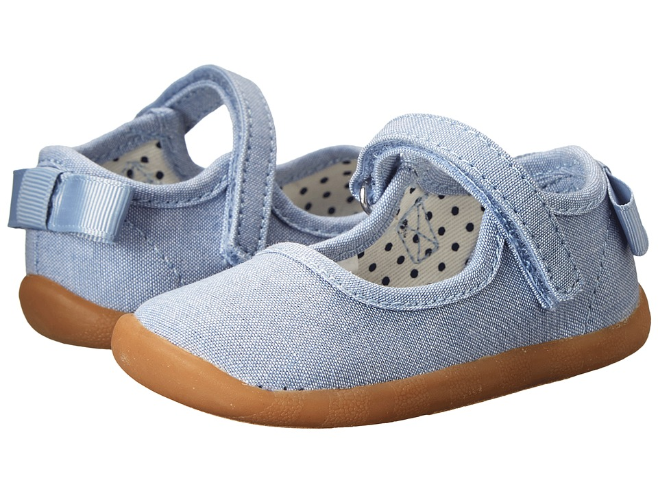 Hanna Andersson - Aurora (Infant/Toddler) (Chambray 2) Girls Shoes