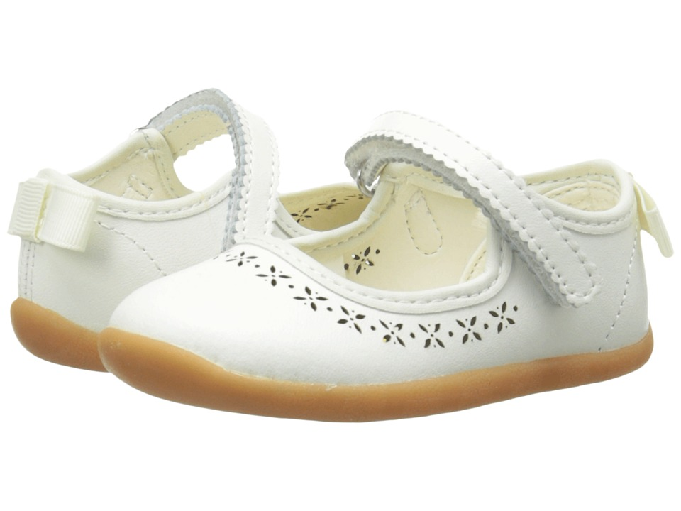 Hanna Andersson - Jessika (Infant/Toddler) (White) Girl's Shoes