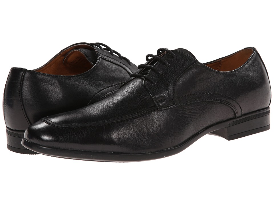 Florsheim - Burbank Moc Ox (Black) Men's Plain Toe Shoes