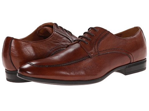 Florsheim - Burbank Moc Ox (Cognac) Men's Plain Toe Shoes