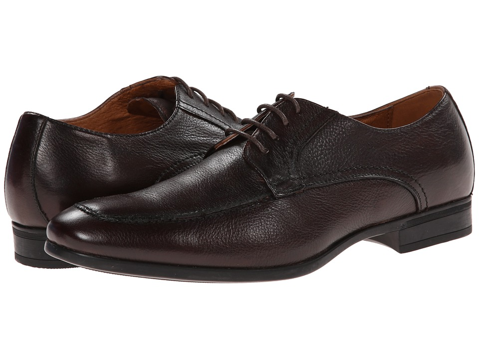 Florsheim - Burbank Moc Ox (Brown) Men's Plain Toe Shoes