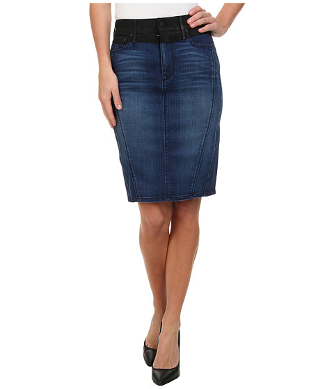 True Religion - Chloe Pencil Skirt in Till the End (Till the End) Women