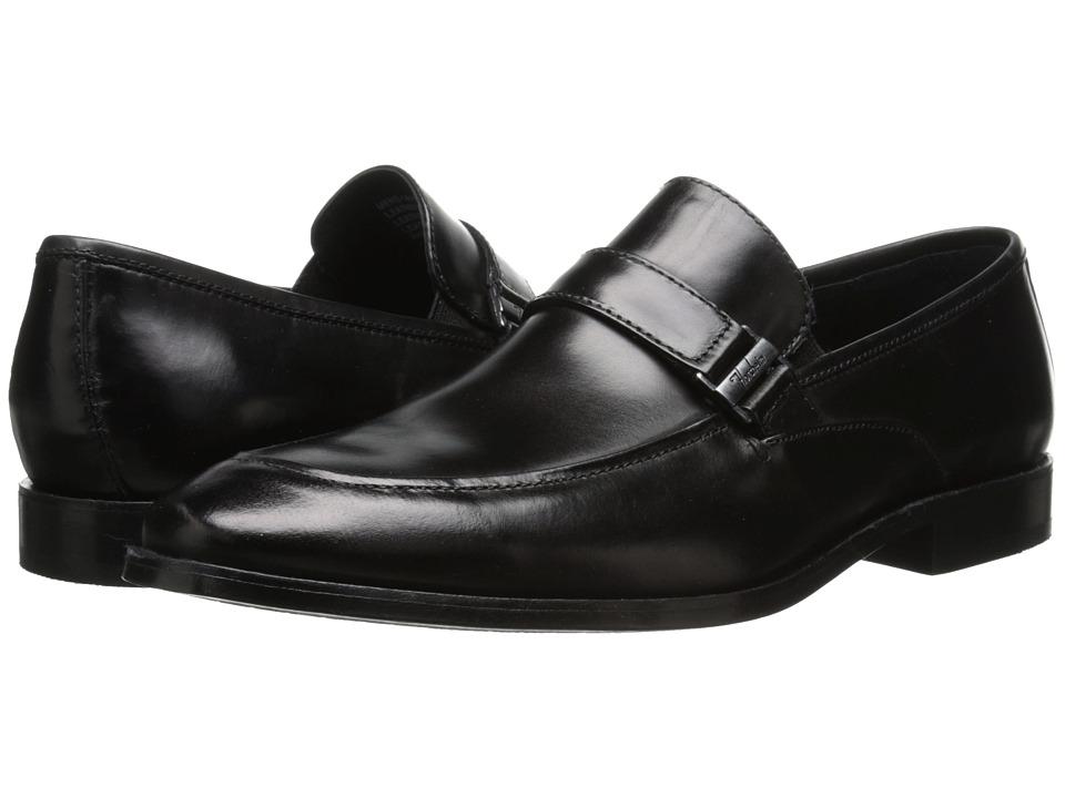 Florsheim - Jet Strap (Black) Men's Slip-on Dress Shoes