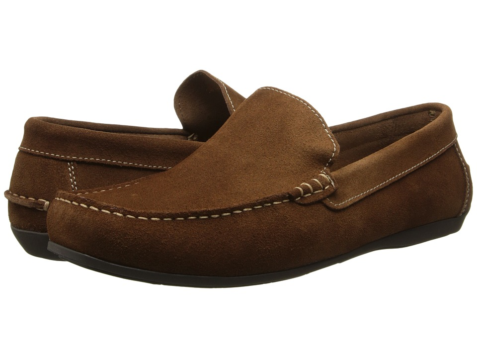 Florsheim - Jasper Venetian Slip-On (Mocha Suede) Men's Slip on Shoes