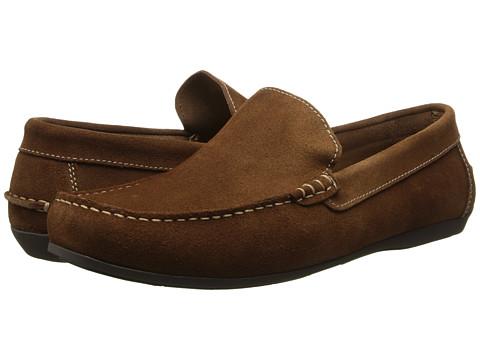 Florsheim - Jasper Venetian Slip-On (Mocha Suede) Men's Slip on Shoes
