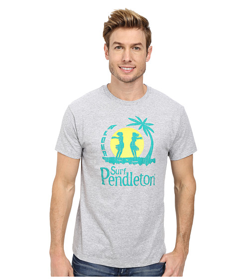 Pendleton - Surf Graphic Tee (Grey Heather) Men
