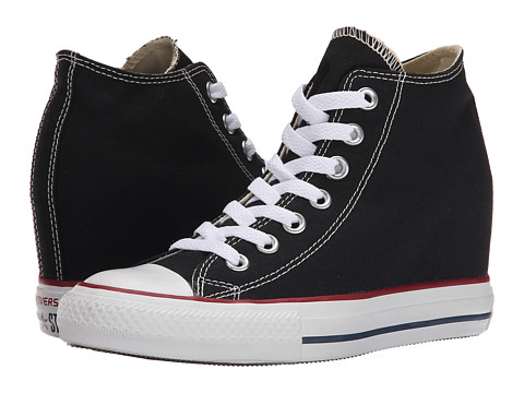 Converse - Chuck Taylor All Star Lux Mid (Black) Women