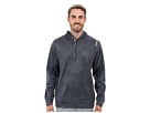 Reebok Workout Ready Over The Head Embossed Top (Graphite) Men's Long Sleeve Pullover