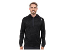 Reebok Workout Ready Over The Head Embossed Top (Black) Men's Long Sleeve Pullover