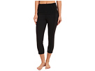 Reebok Shapewear Action Capri (Black/Black Cow Silk) Women's Capri