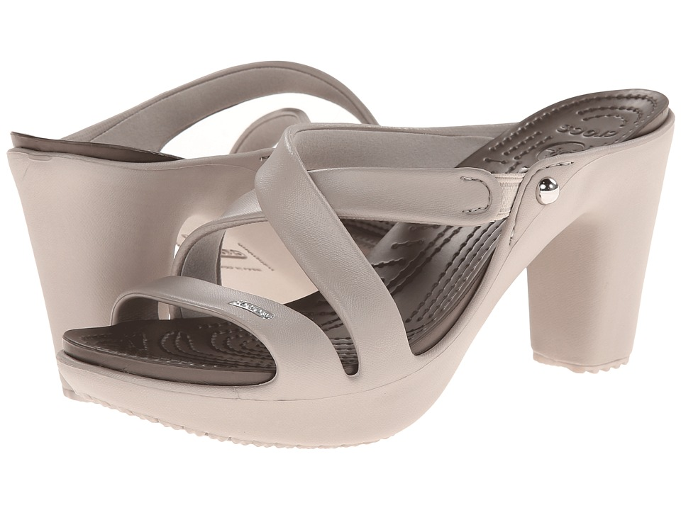 Crocs - Cyprus IV (Platinum/Pewter) Women's Sandals