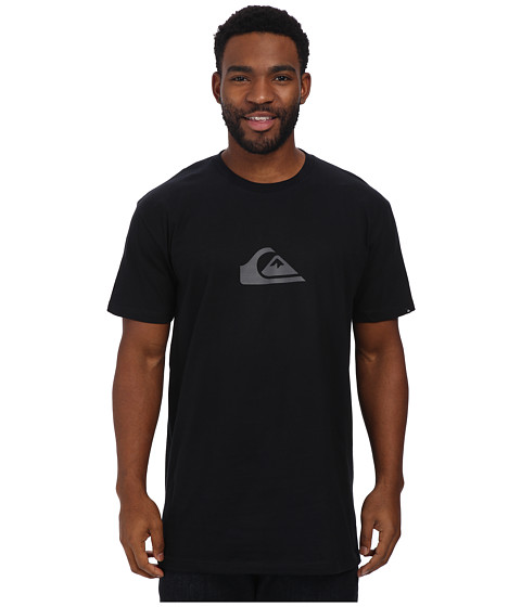 Quiksilver - Everyday Logo Tee (Black) Men's T Shirt