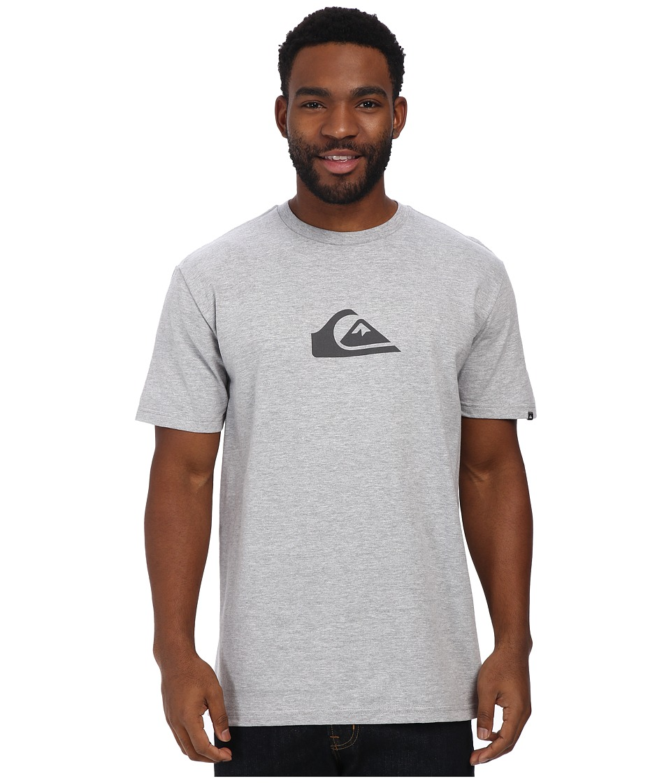 Quiksilver - Everyday Logo Tee (Athletic Heather) Men's T Shirt