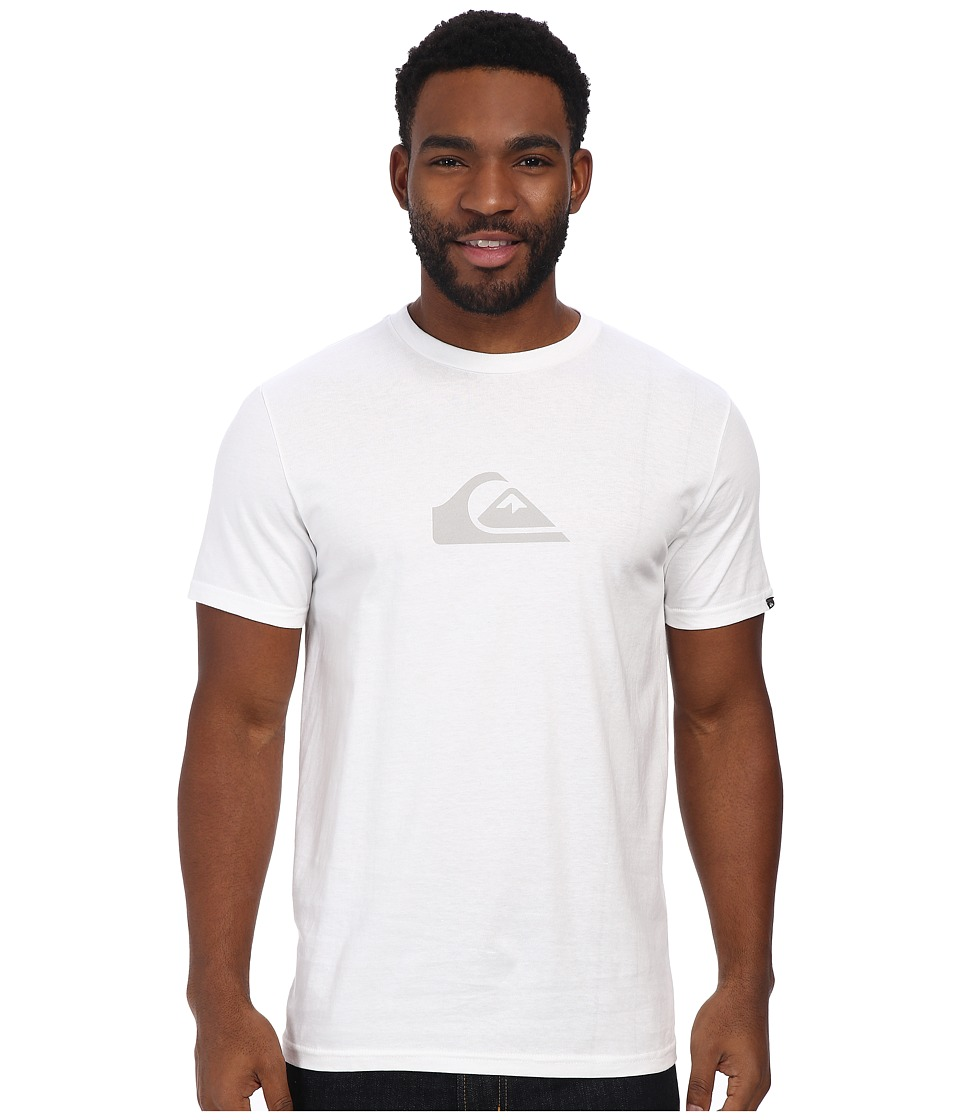 Quiksilver - Everyday Logo Tee (White) Men's T Shirt