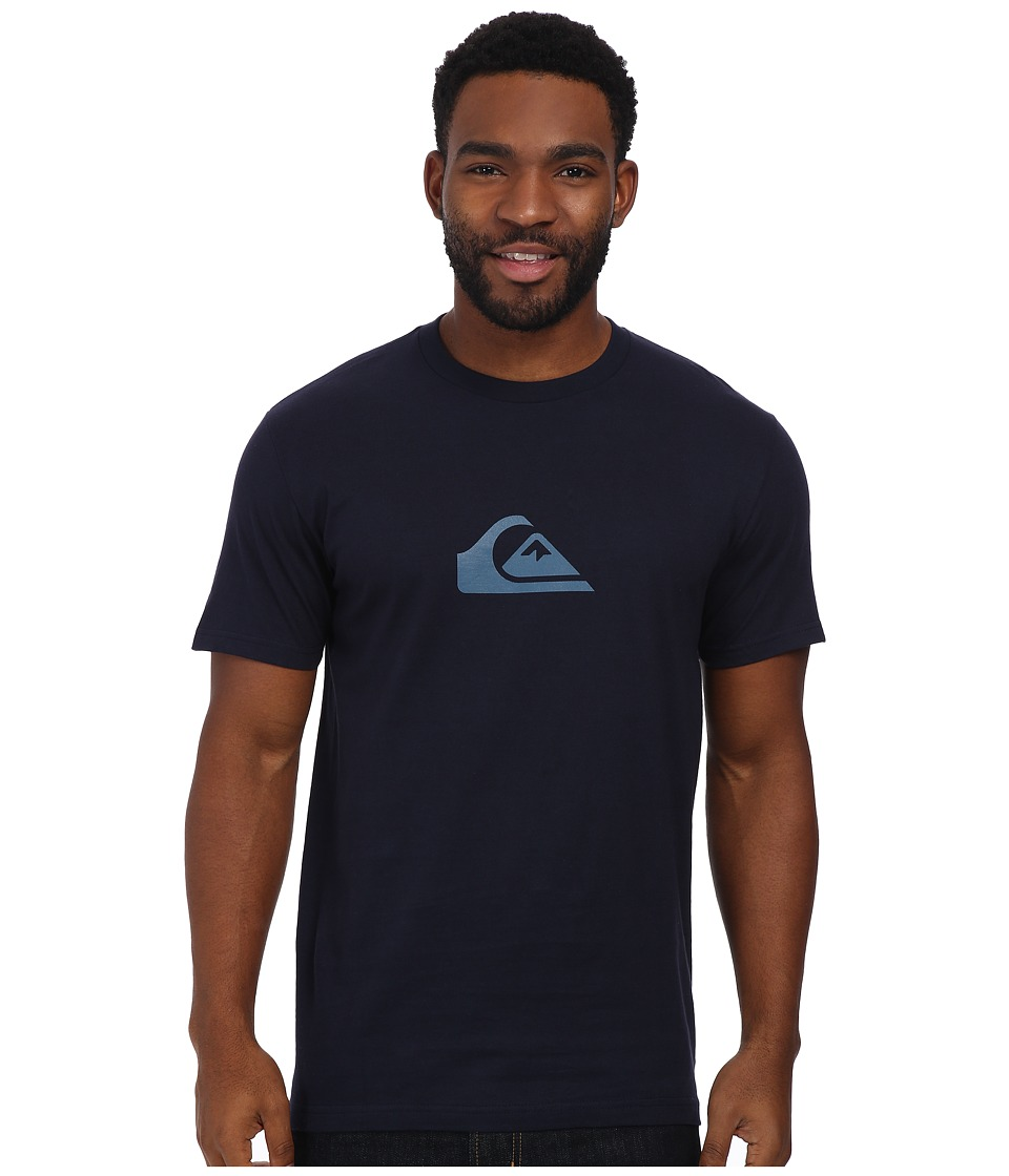 Quiksilver - Everyday Logo Tee (Navy Blazer) Men's T Shirt