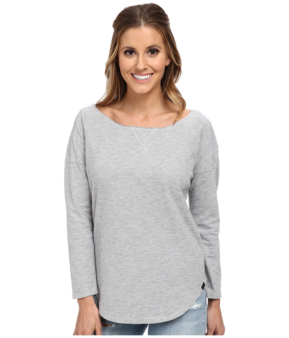 Burton - Holbrook L/S (Dark Ash Heather) Women's Long Sleeve Pullover