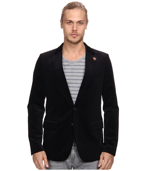 Scotch & Soda - Fine Cordouroy Blazer (Night) Men's Coat