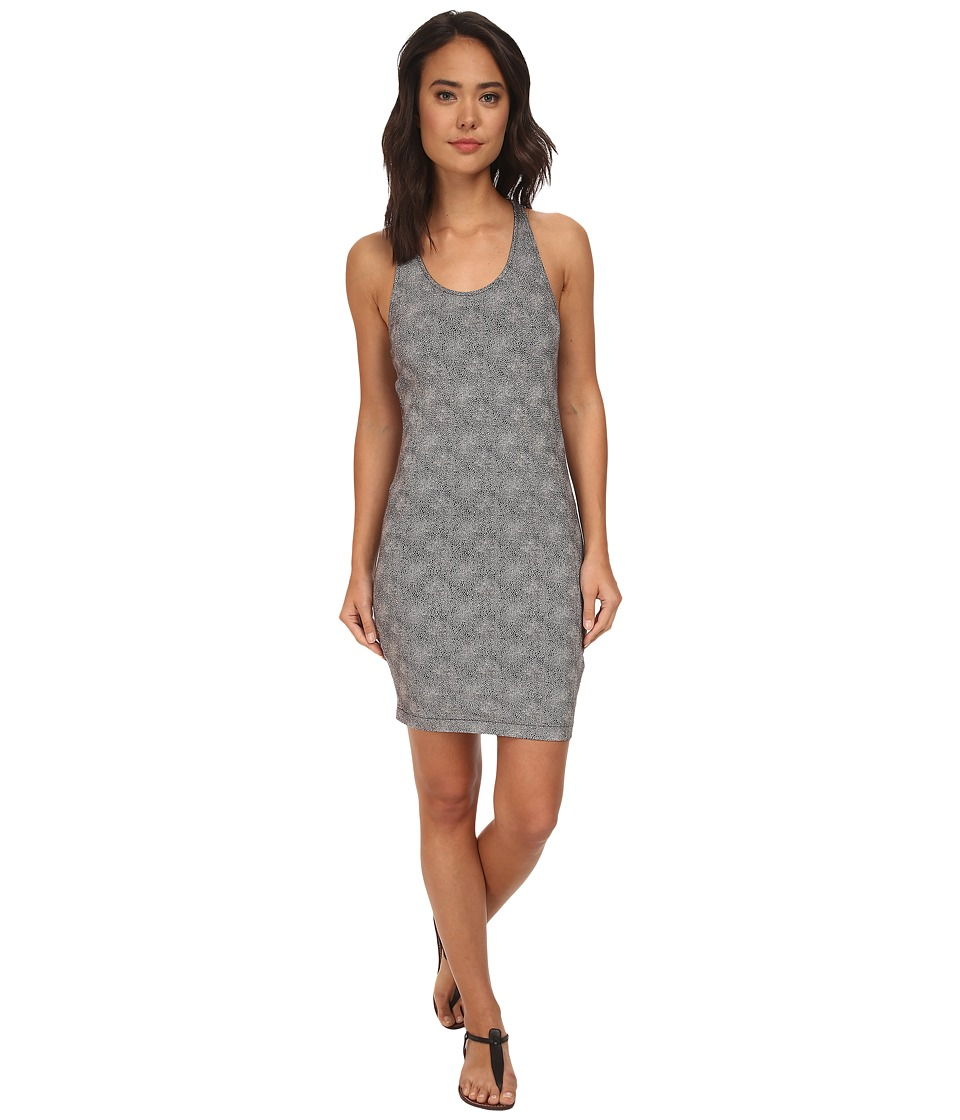 Burton - Kenosha Dress (True Black Floral Stripe) Women's Dress